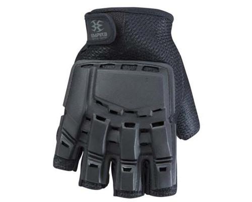 Empire Battle Tested THT Hard Back Fingerless Paintball Gloves