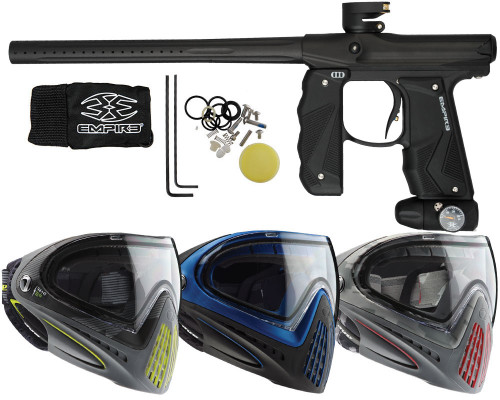 Empire Mini GS Paintball Gun, & Dye I4 Paintball Mask
