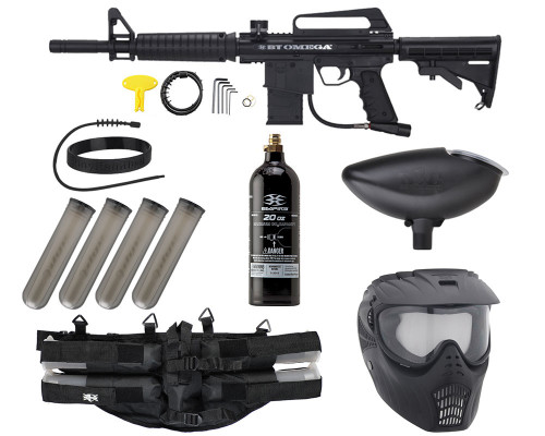 Empire Battle Tested Omega Epic Paintball Marker Package