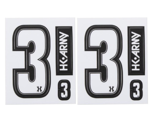 HK Army Sticker Packet - Numbers