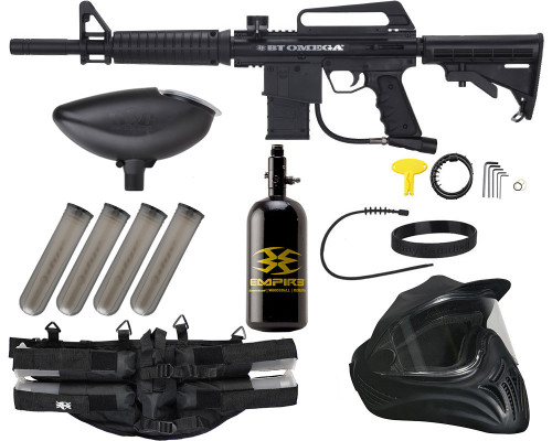 Empire Battle Tested Omega Legendary Paintball Marker Package