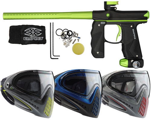 Empire Mini GS Paintball Gun, & Dye I4 Paintball Mask