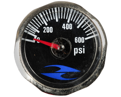 32 Degrees Replacement Tank Gauge - 600 PSI