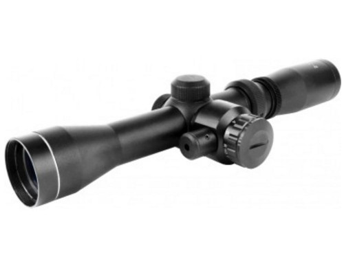 Aim Sports 2-7x32mm Scout Series Red Laser Rifle Scope w/ Duplex Reticle (JHR2732B)