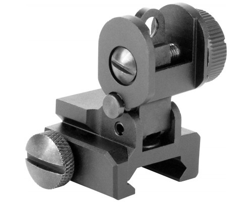 Aim Sports A2 Rear Flip-Up Rail Mounted Sight For AR-15's & M16's (MT035)