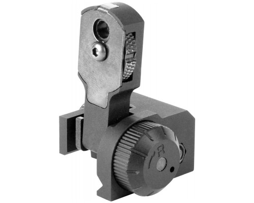Aim Sports Rear Flip-Up Rail Mounted Sight For AR-15's & M16's (MT036)