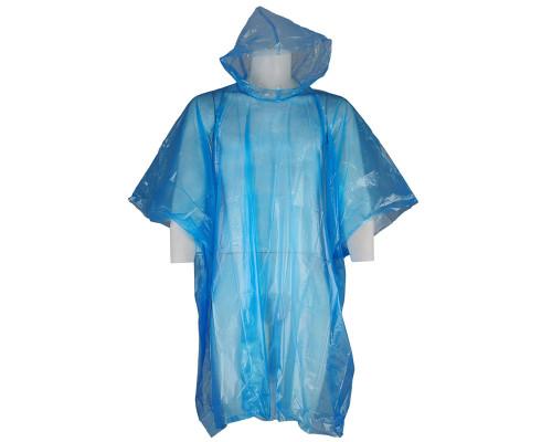 Draxxus Rain Poncho (Blue)