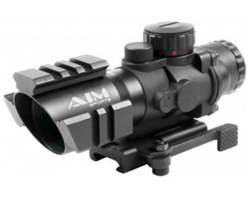 Aim Sports 4x32mm Recon Series Rifle Scope w/ Arrow Reticle (JTCTQ432G)