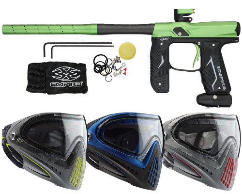 Empire Axe 2.0 Gun & Dye I4 Paintball Mask