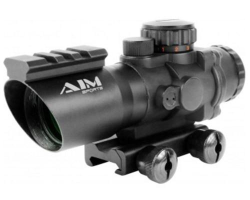 Aim Sports 4x32mm Recon Series Rifle Scope w/ Rapid Ranging Reticle (JTDSR432G)