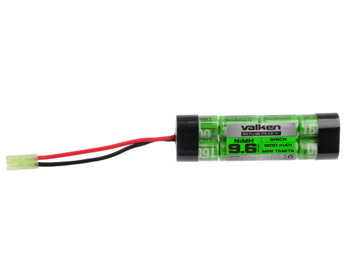 Valken Energy Airsoft Battery - 9.6v NiMH 1600mAh (48115)