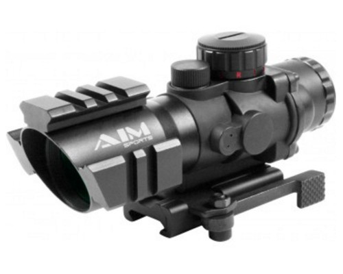 Aim Sports 4x32mm Recon Series Rifle Scope w/ Rapid Ranging Reticle (JTDTR432G)