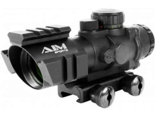 Aim Sports 4x32mm Recon Series Rifle Scope w/ Rapid Ranging Reticle (JTDTRQ432G)
