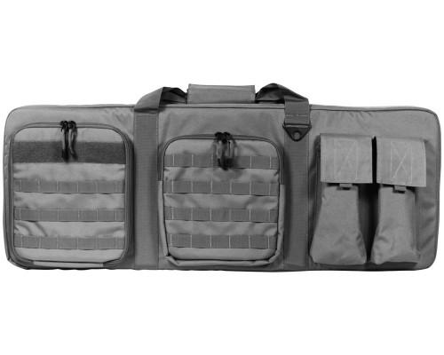 """36"""" Aim Sports Padded Double Rifle Bag - Black (TGA-PWCB36)"""