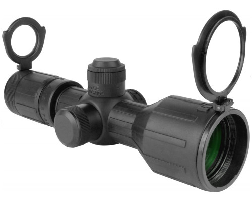 Aim Sports 3-9X40mm Armored Series Compact Scope w/ P4 Sniper Reticle (JTDX3940G)