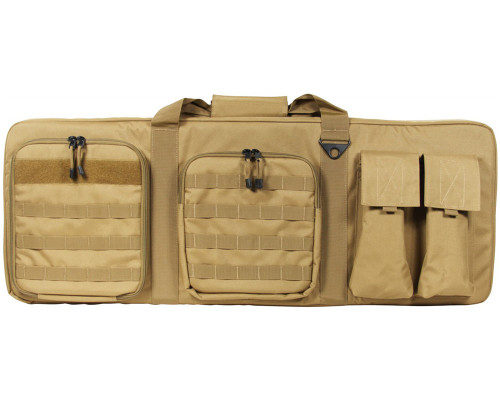 "36"" Aim Sports Padded Double Rifle Bag - Tan (TGA-PWCT36)"