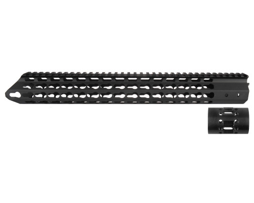 "Aim Sports 15"" Free Float Keymod Handguard For AR-15's (MTKMR03)"