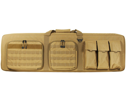 "46"" Aim Sports Padded Double Rifle Bage - Tan (TGA-PWCT46)"