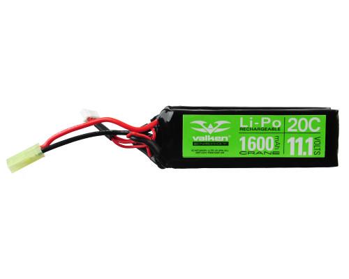 Valken Energy LiPo Airsoft Battery - 11.1v 1600mAh (48207)
