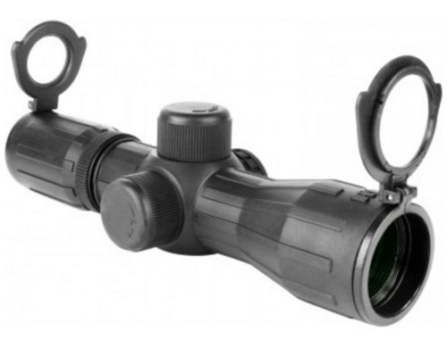 Aim Sports 4x30mm Armored Series Compact Scope w/ P4 Sniper Reticle (JTDX430G)