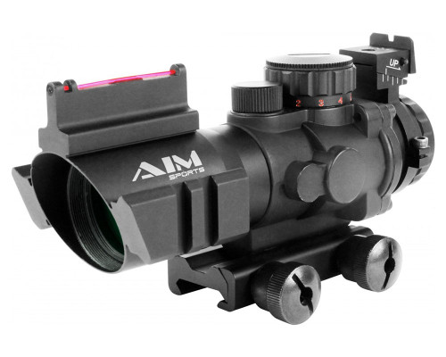 Aim Sports 4x32mm Prismatic Series Rifle Scope w/ 3/4 Circle Reticle (JTHFO432G)