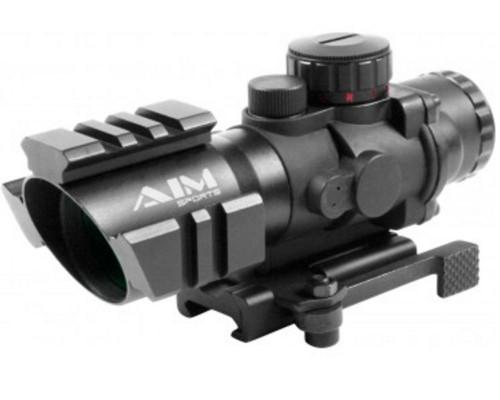 Aim Sports 4x32mm Recon Series Rifle Scope w/ 3/4 Circle Reticle (JTHTQ432G)