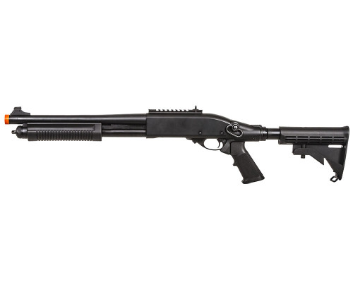 Jag Arms Gas Airsoft Gun - Scattergun TS Shotgun (Black)