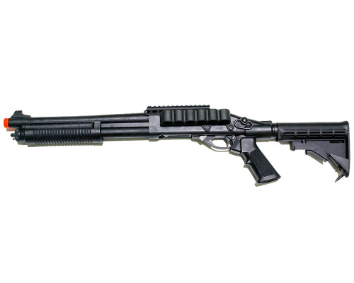 Jag Arms Gas Airsoft Gun - Scattergun TSS Shotgun (Black)