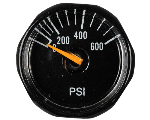 Blackout Replacement Tank Gauge - 600 PSI