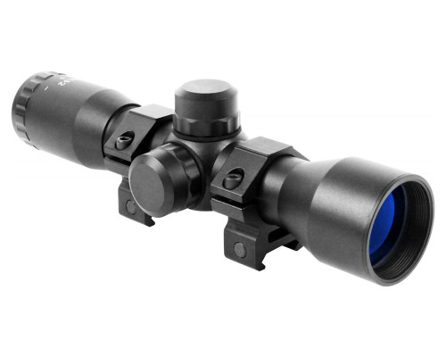 Aim Sports 4x32mm Tactical Series Compact Scope w/ Mil-Dot Reticle (JTM432B)