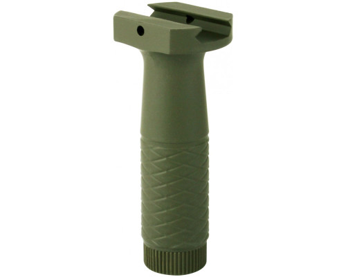 "Aim Sports 4"" Rail Mounted Vertical Front Foregrip - Green (PJPHG-G)"