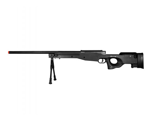 Bravo Spring Airsoft Rifle - MK98 Sniper Bolt Action - Black