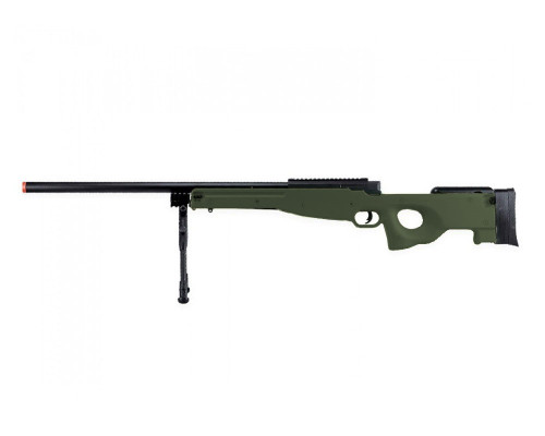 Bravo Spring Airsoft Rifle - MK98 Sniper Bolt Action - Olive Drab