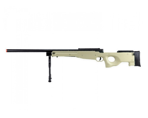 Bravo Spring Airsoft Rifle - MK98 Sniper Bolt Action - Tan