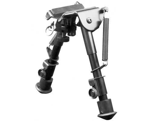 Aim Sports Short H-Style Spring Tension Rifle Bipod (BPHS01)