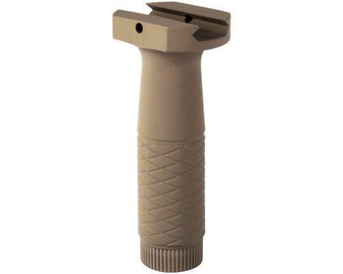 "Aim Sports 4"" Rail Mounted Vertical Front Foregrip - Tan (PJPHG-T)"