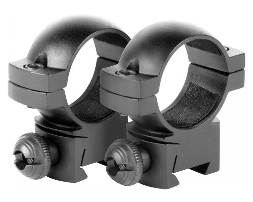 "Aim Sports 1"" Medium Dovetail Ring Scope Mounts (QD10M)"