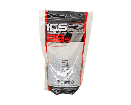 ICS .20g Airsoft BB's - 3,500 ct - Competition