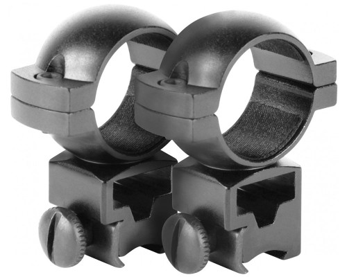"Aim Sports 1"" High Dovetail Ring Scope Mounts (QD10T)"