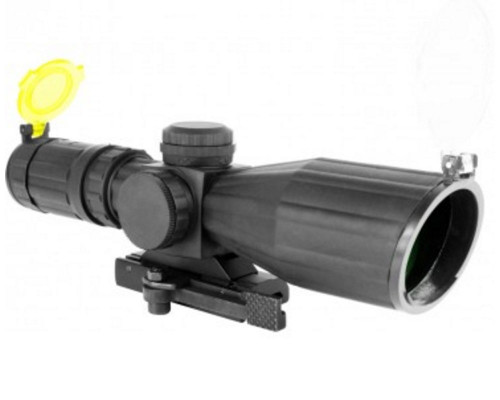 Aim Sports 3-9x42mm Armored Series Compact Scope w/ Range Finder Reticle (JTXSDR3942G)