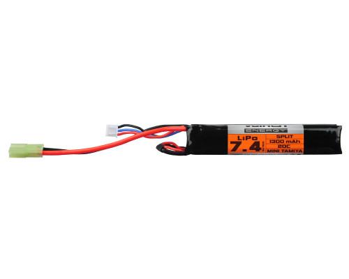 Valken Energy LiPo Airsoft Battery - 7.4v 1300mAh (72400)