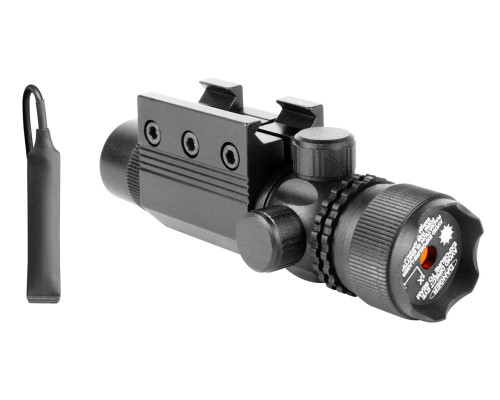 Aim Sports 5MW Tactical Rail Mounted Laser Sight w/ Strike Bezel - Blue (LB001)