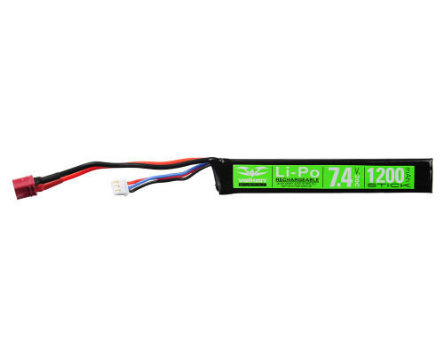 Valken Energy LiPo Airsoft Battery - 7.4v 1200mAh (78655)