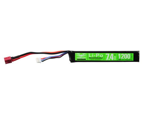Valken Energy LiPo Airsoft Battery - 7.4v 1200mAh (78655)