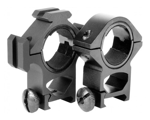 Aim Sports High 30mm Weaver Rail Rings/Tri-Rail Scope Mount (QT01)