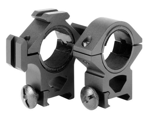 Aim Sports Medium 30mm Weaver Rail Rings/Tri-Rail Scope Mount (QT02)