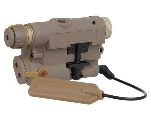 Bravo Airsoft Flashlight & Laser - P15 (FDE)