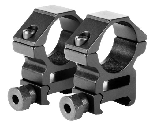 "Aim Sports 1"" Medium Weaver Rail Ring Scope Mounts (QW10N)"