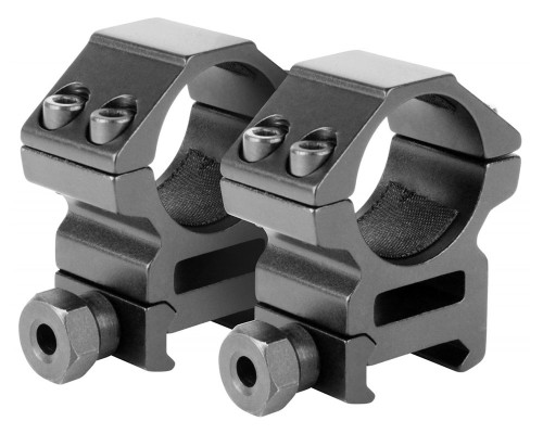 "Aim Sports 1"" Medium Weaver Rail Ring Scope Mounts (QW10TM)"