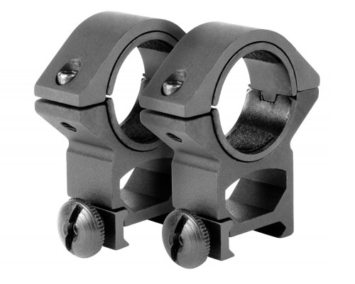 "Aim Sports Medium 30mm Weaver Rail Ring Scope Mount w/ 1"" Insert (QW30M)"